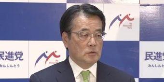 無所属の会・岡田代表、希望分党後の合流は「了解得られない」