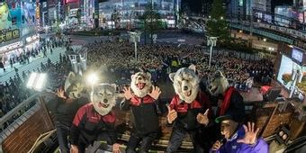 MAN WITH A MISSION、ニューシングル発売記念イベントに3000人が集結